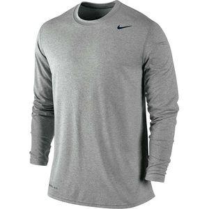 Nike Legend Dri Fit Long Sleeve Performance Shirt